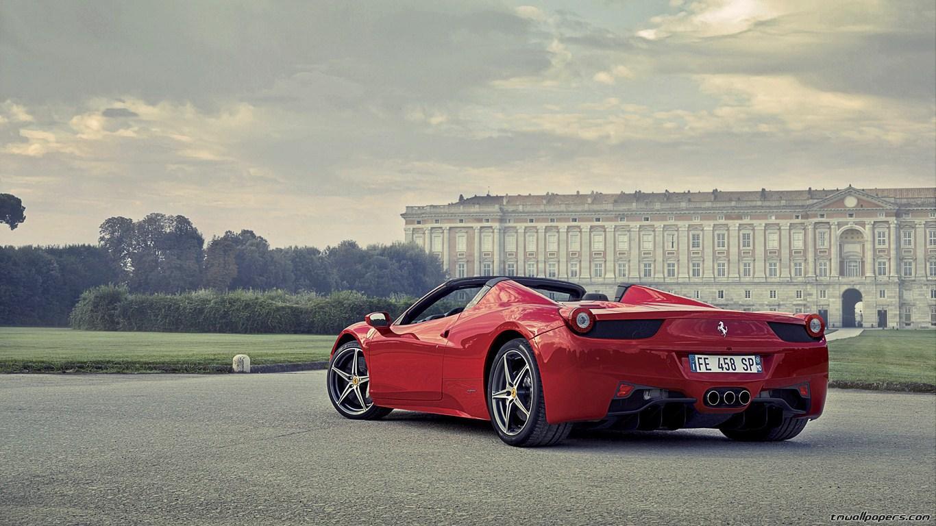 Ferrari 458 Italia Hd Wallpaper 1366x768 Download Hd Wallpaper Wallpapertip