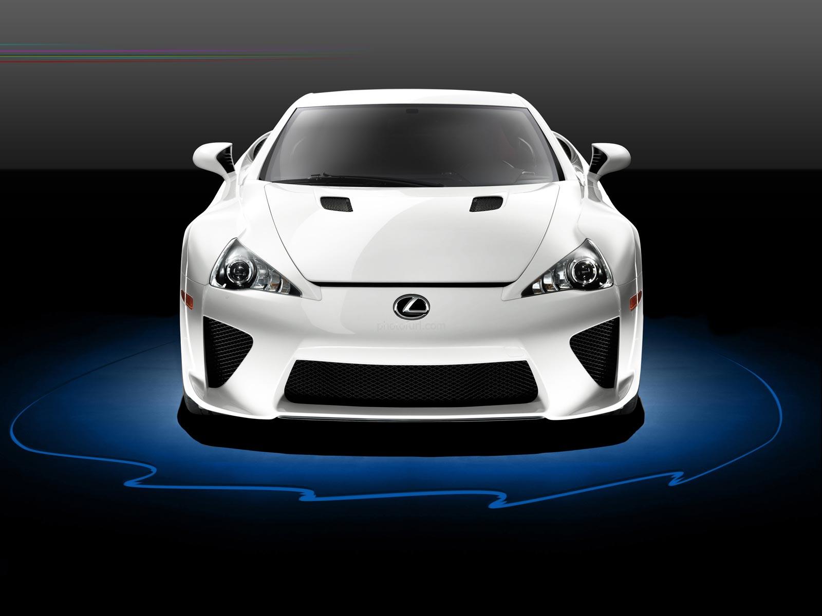 White Lexus Lfa Wallpaper 1600x1200 Download Hd Wallpaper Wallpapertip