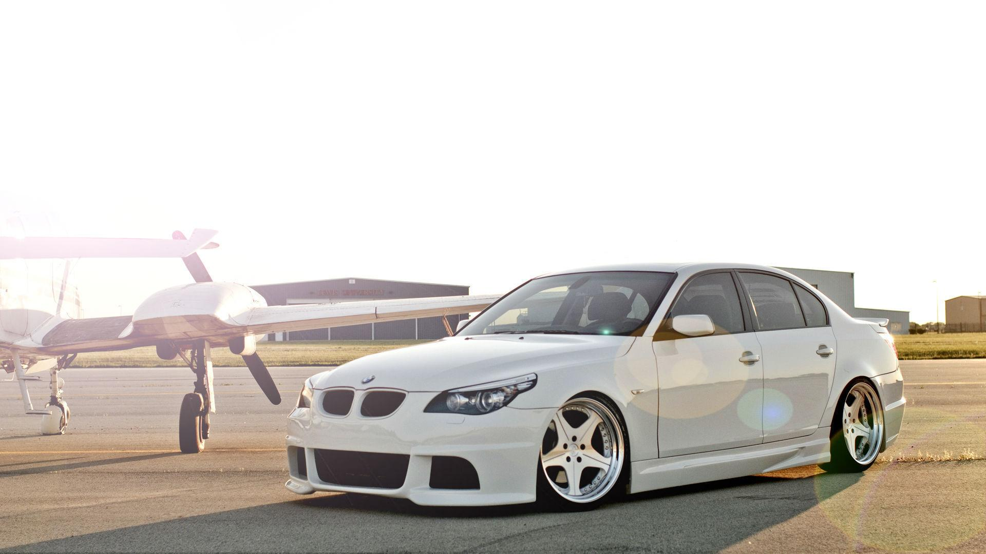 M5 E60 Desktop Beautiful Sun White Bmw Car 970x550 Download Hd Wallpaper Wallpapertip
