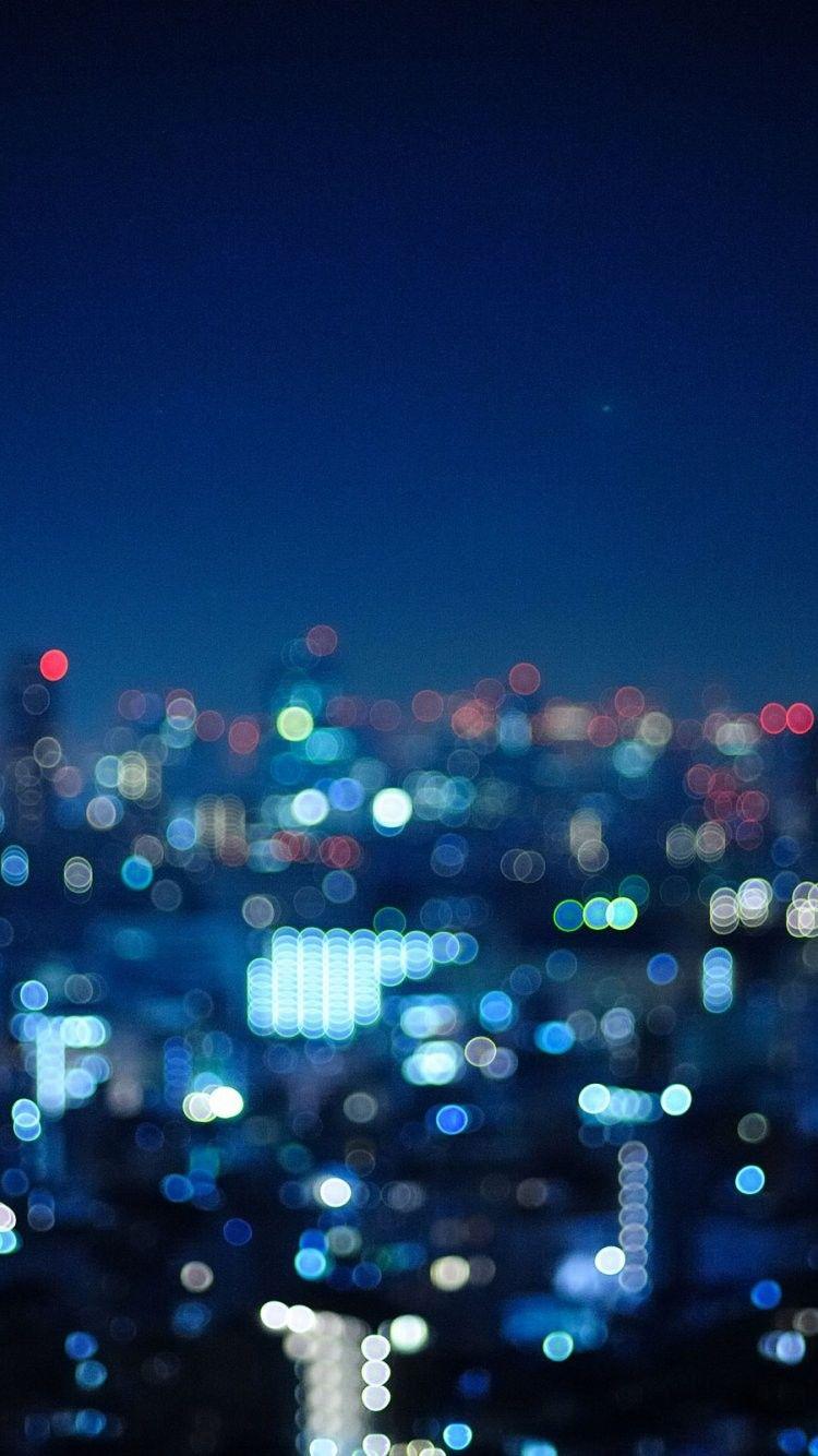 Night Light Wallpaper 750x1334 Download Hd Wallpaper Wallpapertip