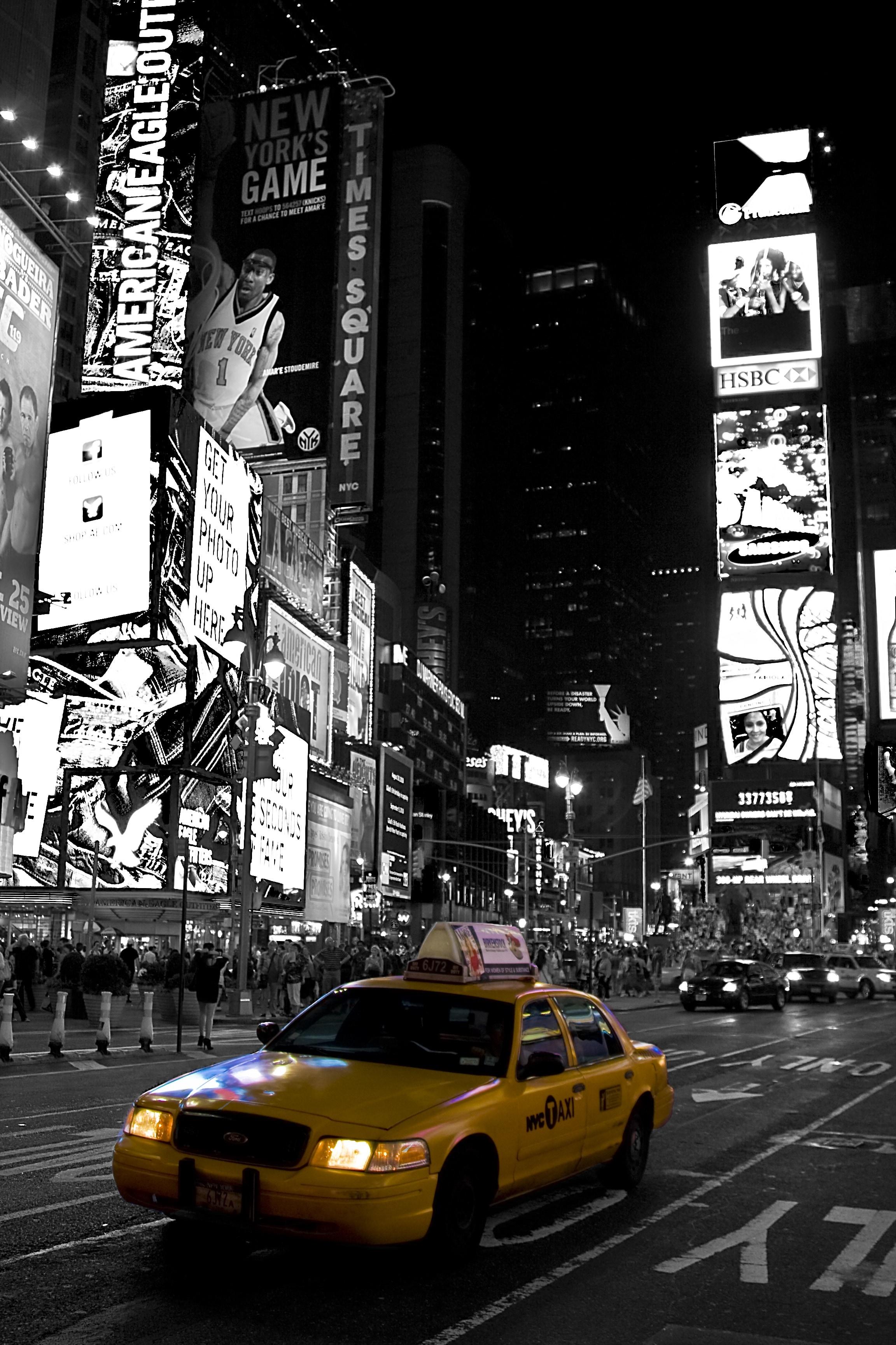 New York Taxi Wallpaper - 970x1455 ...