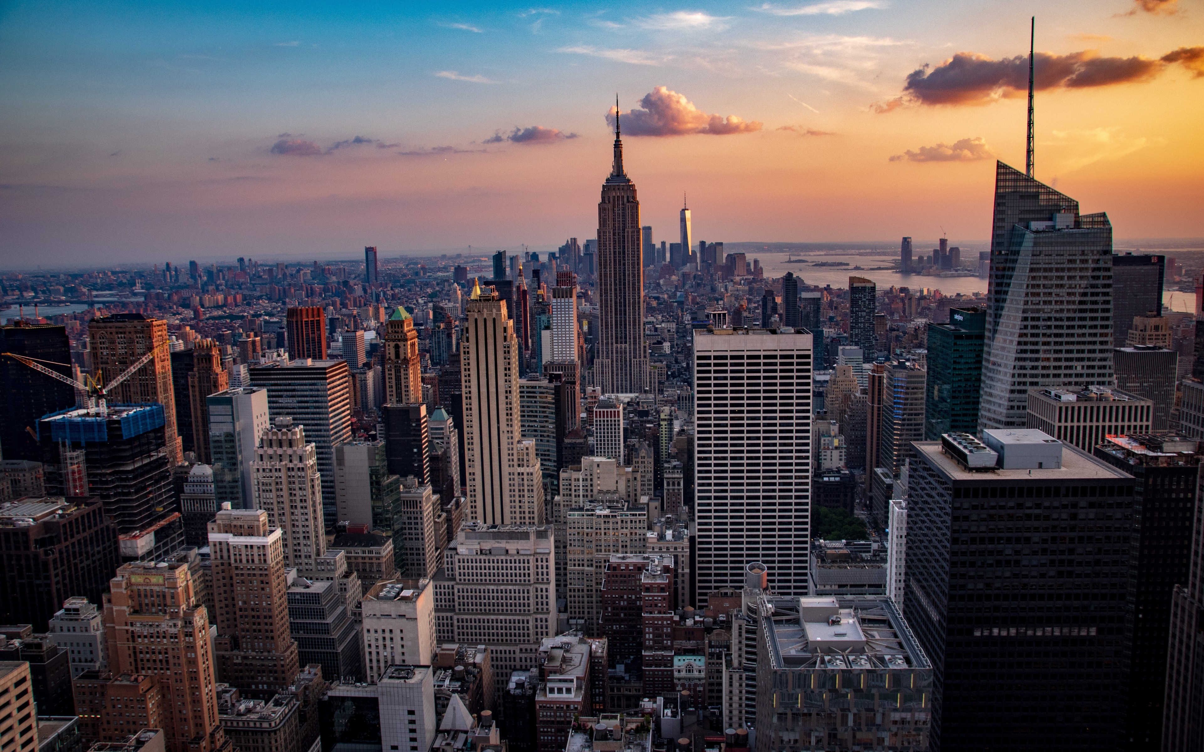 New York Wallpaper 4k 3840x2400 Download Hd Wallpaper Wallpapertip