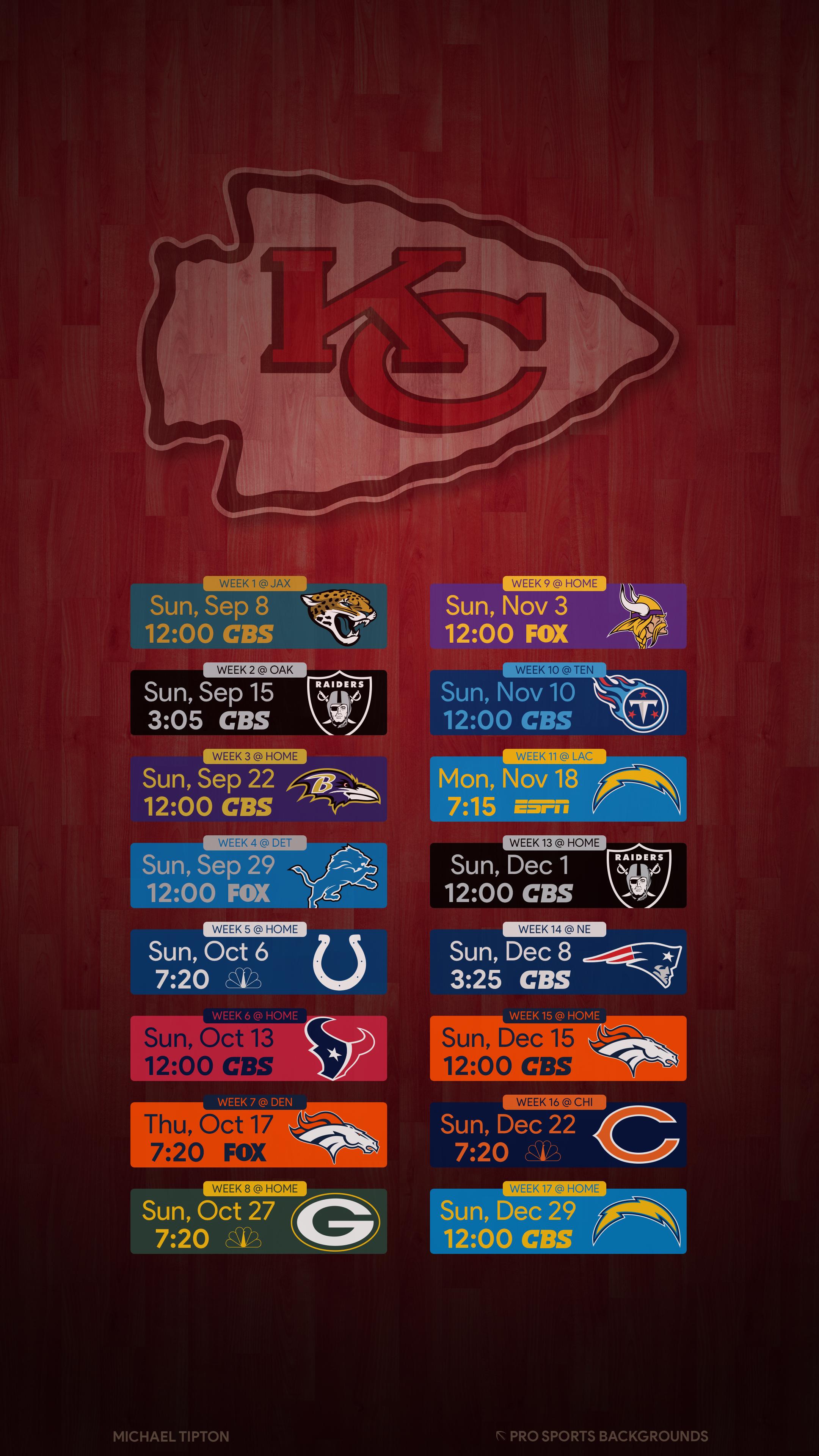 Kansas City Chiefs Wallpapers Pro Sports Backgrounds 2160x3840 Download Hd Wallpaper Wallpapertip