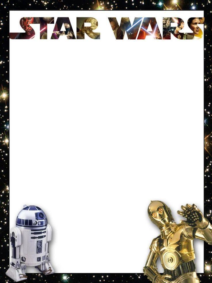 Star Wars Border Clipart 736x981 Download Hd Wallpaper Wallpapertip