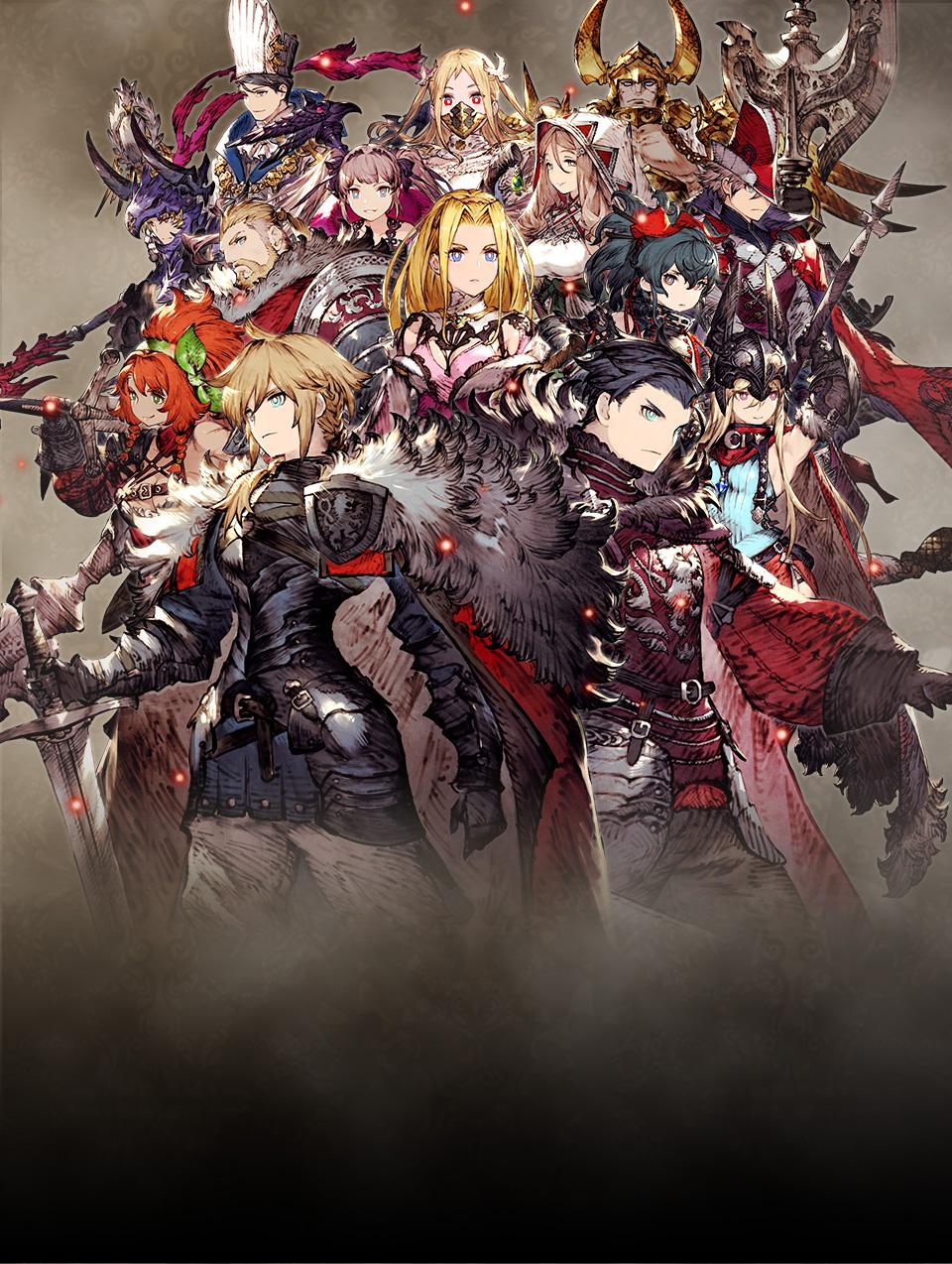 Final Fantasy Brave Exvius Wallpaper 960x1274 Download Hd Wallpaper Wallpapertip