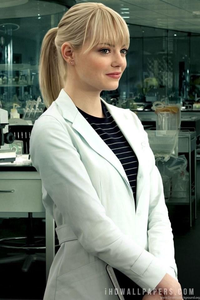 Emma Stone In Amazing Spider Man Hd Wallpapers Ihd 640x960 Download Hd Wallpaper Wallpapertip