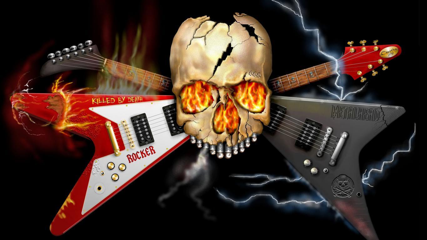 Wallpapers Heavy Metal Music Hd - 1366x768 - Download HD