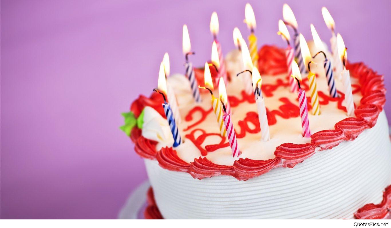 お誕生日おめでとうケーキの背景 ケーキ壁紙ダウンロード 1366x798 Wallpapertip