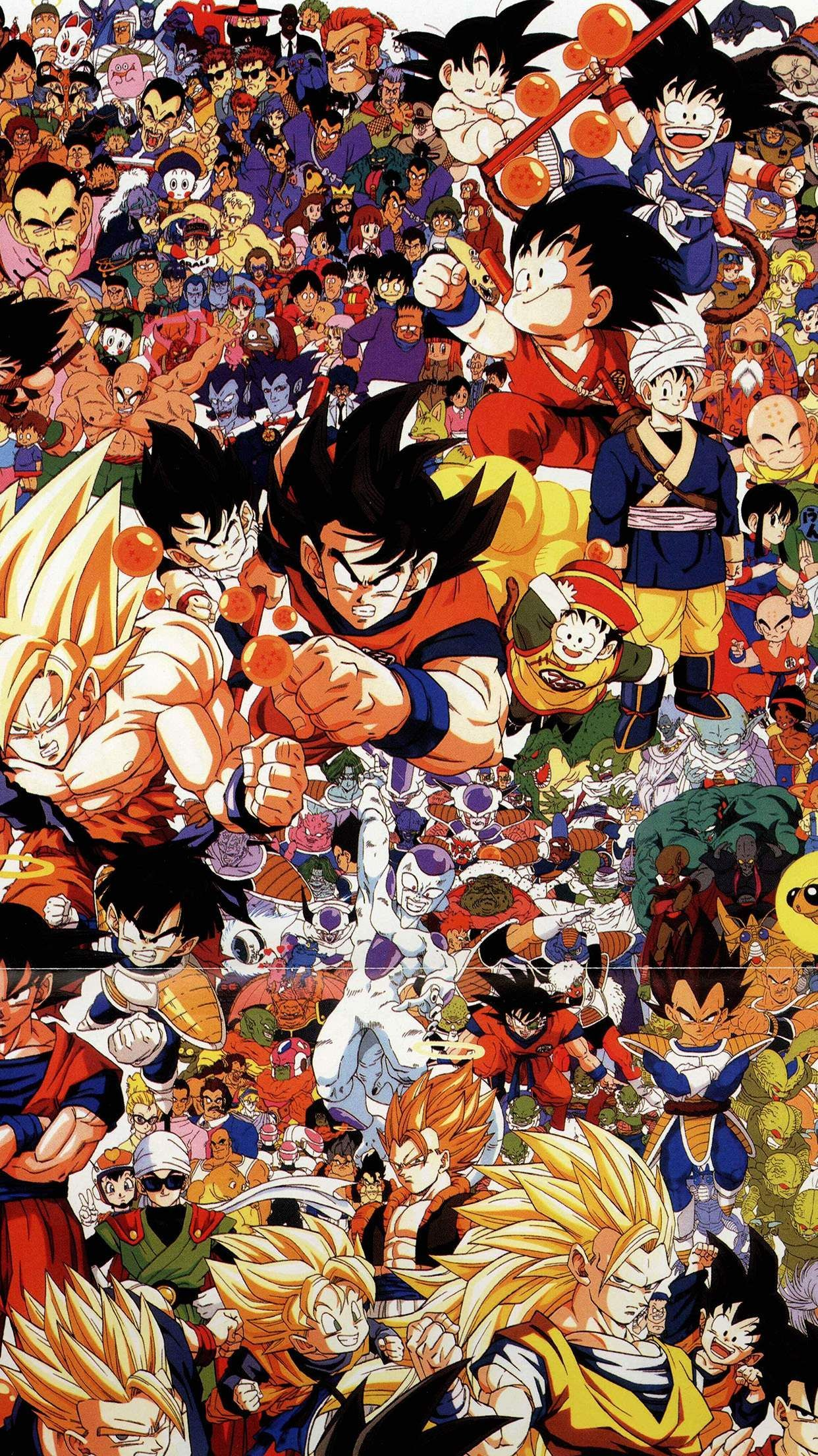 Dragonball Full Art Illust Game Anime Iphone 6 Wallpaper Dragon