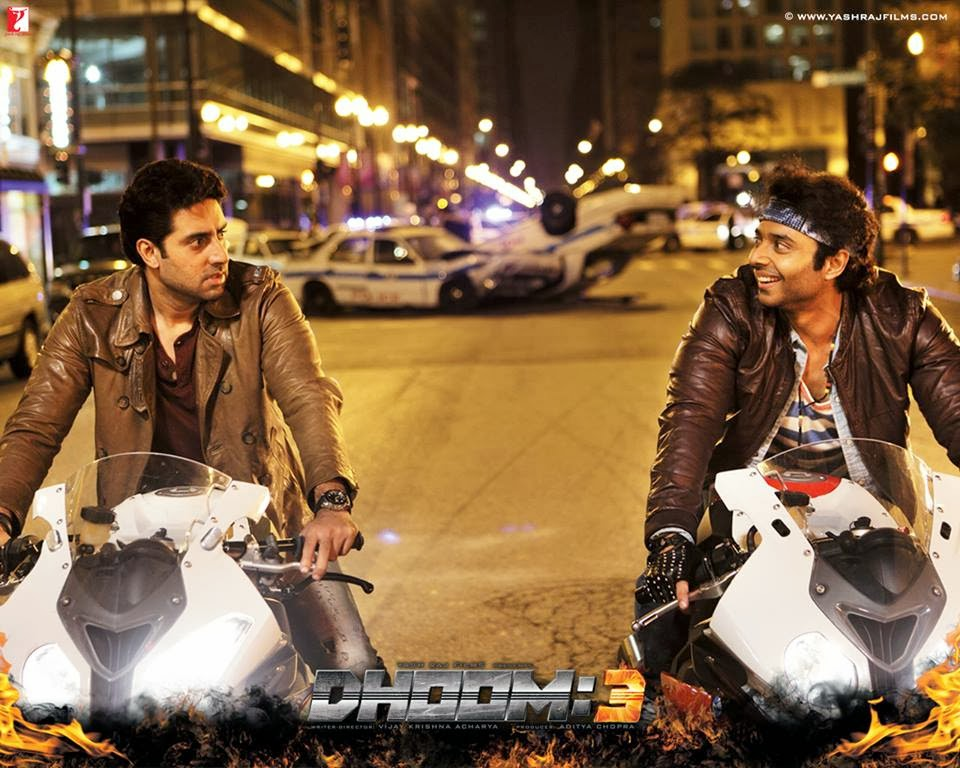 Image result for abhishek bachchan dhoom 3