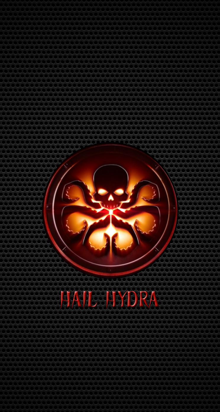 ドクロ Logoの壁紙 Hydra Marvel Wallpaper Iphone 744x1392 Download Hd Wallpaper Wallpapertip