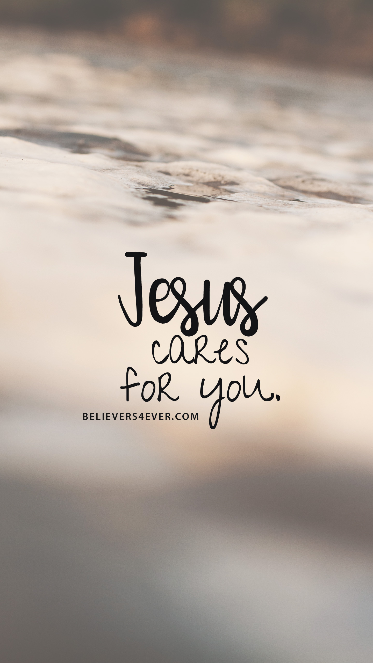 Jesus Cares For You Android Bible Verse Wallpaper Hd 1440x2561 Download Hd Wallpaper Wallpapertip