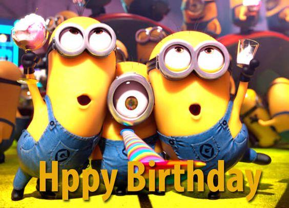 happy birthday minions - 564x405 - download hd wallpaper