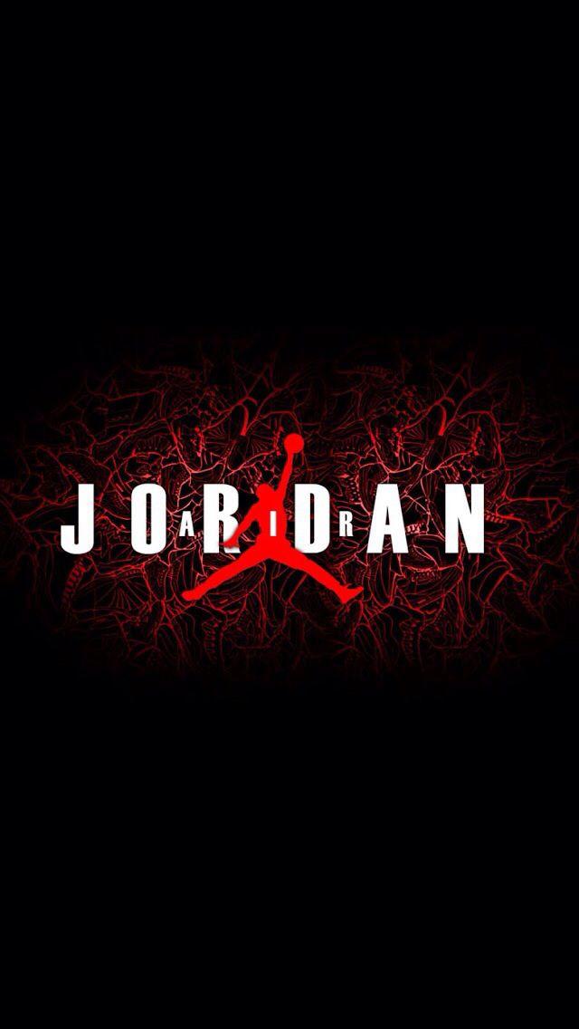 Jordan Wallpaper For Iphone Iphone Air Jordan Logo Wallpaper Hd 640x1136 Download Hd Wallpaper Wallpapertip