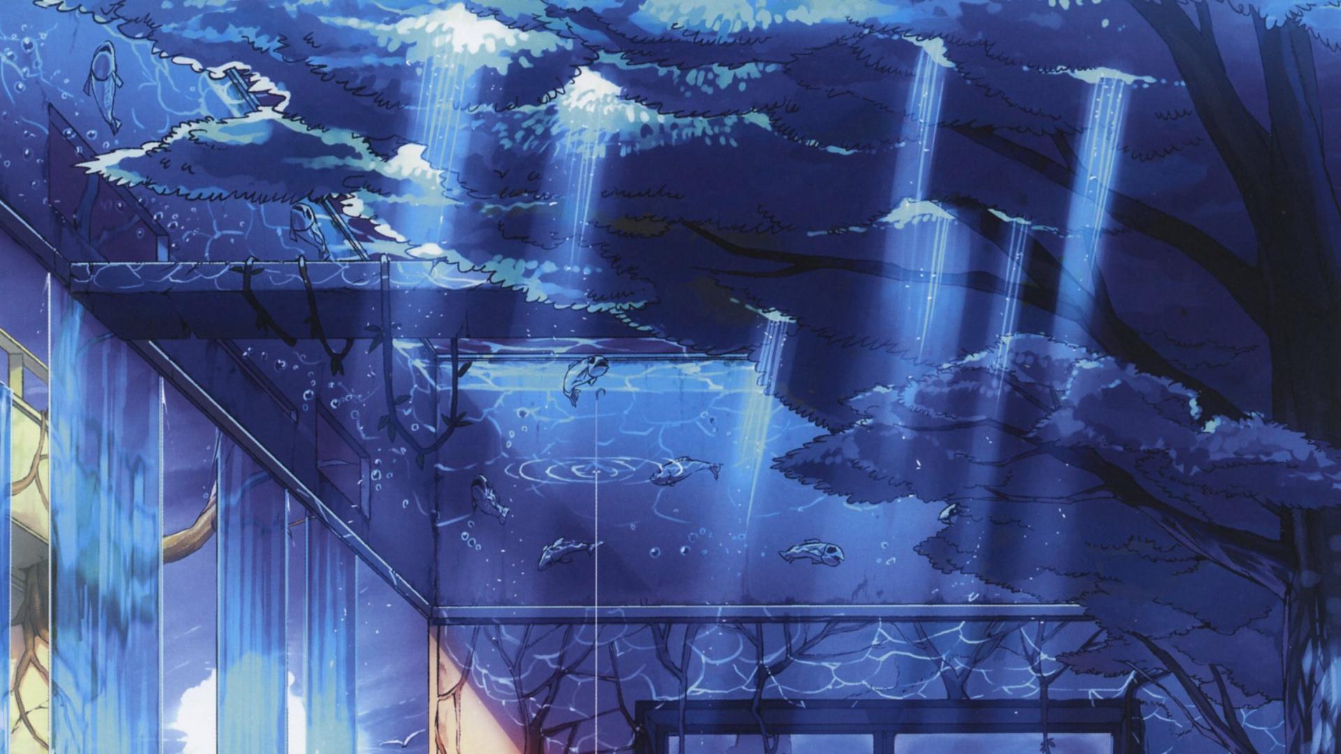 アニメ逆さ都市 Pixivの壁紙 19x1080 Wallpapertip