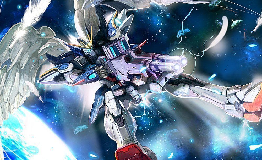 6zamb1r Gundam Wing Wallpaper 1000x611 Download Hd Wallpaper Wallpapertip