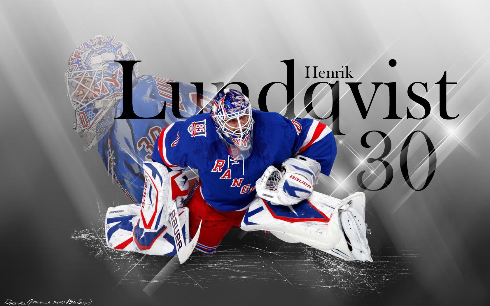 Nhl New York Rangers Hockey Player Henrik Ludqvist 1680x1050 Download Hd Wallpaper Wallpapertip
