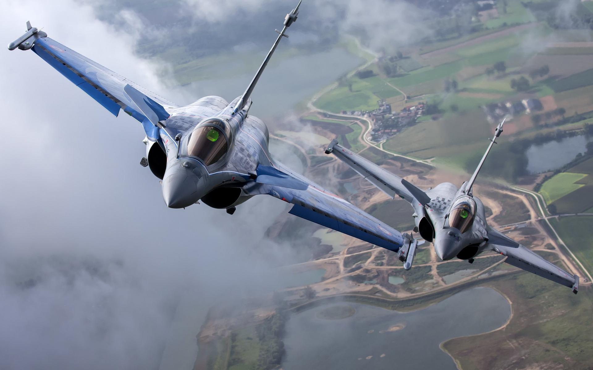 Dassault Rafale Fighter Fighter Two Combat Aircraft 1920x1200 Download Hd Wallpaper Wallpapertip