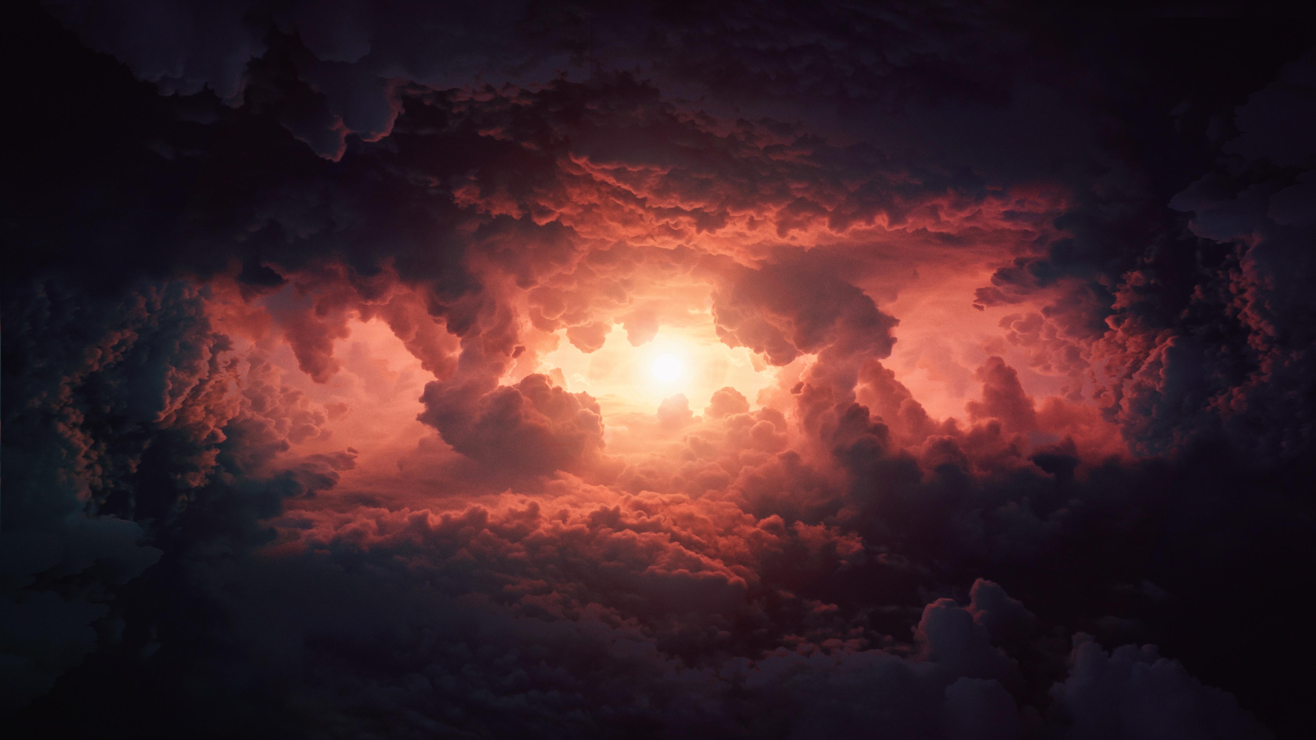 Storm Clouds In Sky 4k 4474x2517 Download Hd Wallpaper Wallpapertip