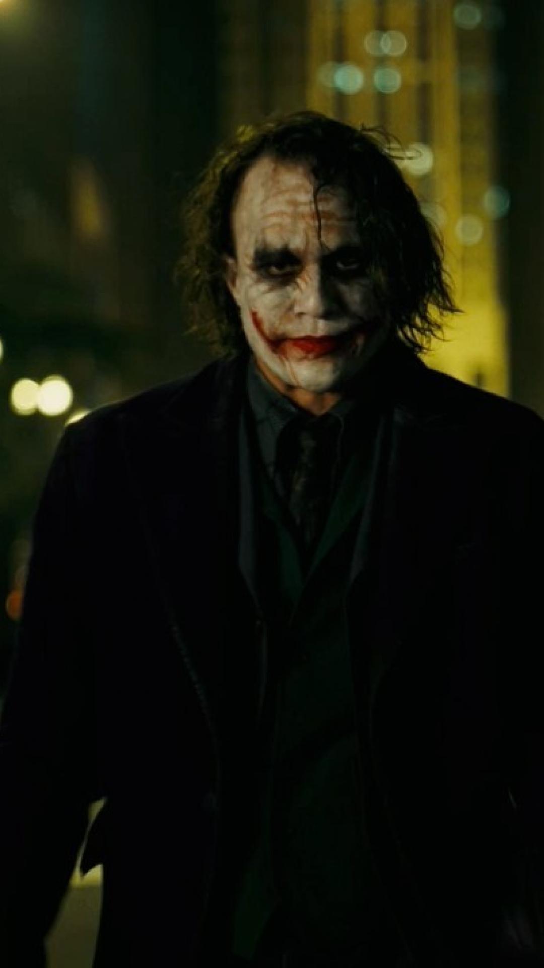 75 Heath Ledger Joker Wallpapers Hd Wallpaperyou 720x1280 Download Hd Wallpaper Wallpapertip