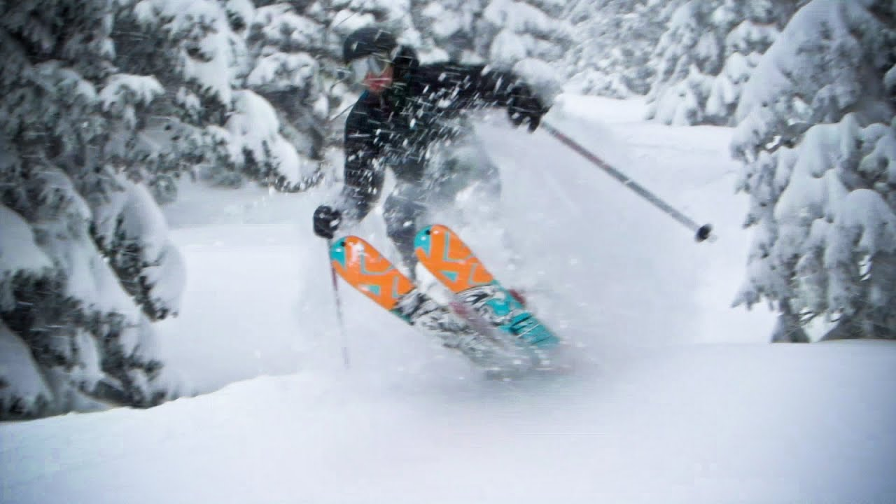 Freeride Skiing Powder 1280x720 Download Hd Wallpaper Wallpapertip