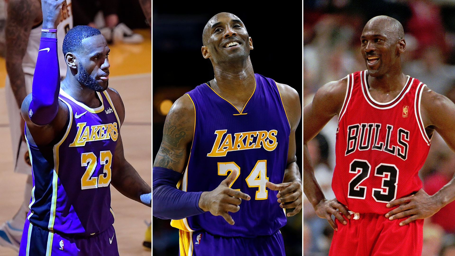 Lebron James Kobe Bryant Michael Jordan 1920x1080 Download Hd Wallpaper Wallpapertip