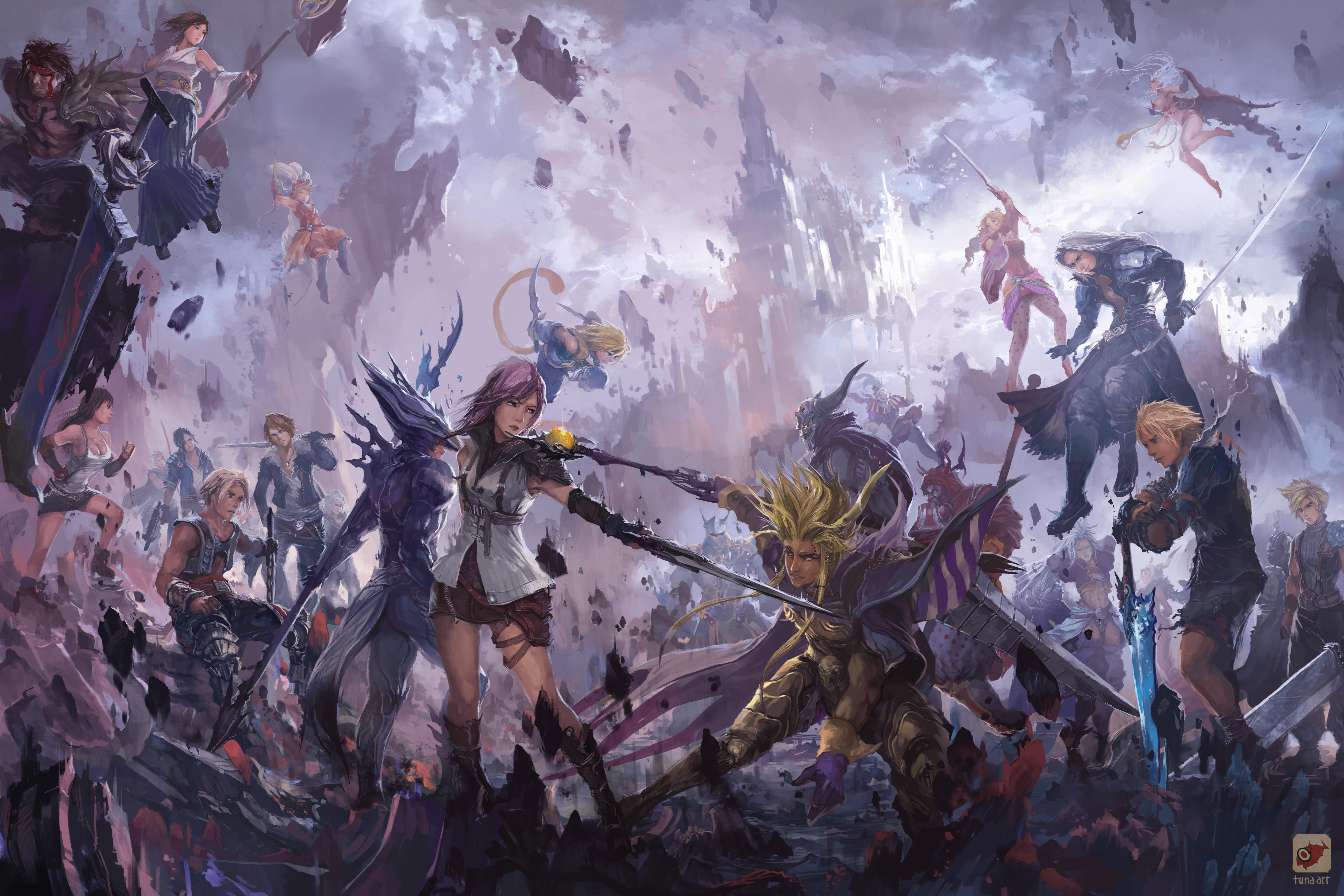 Final Fantasy Xv Wallpaper 4k 4961x3307 Download Hd Wallpaper Wallpapertip