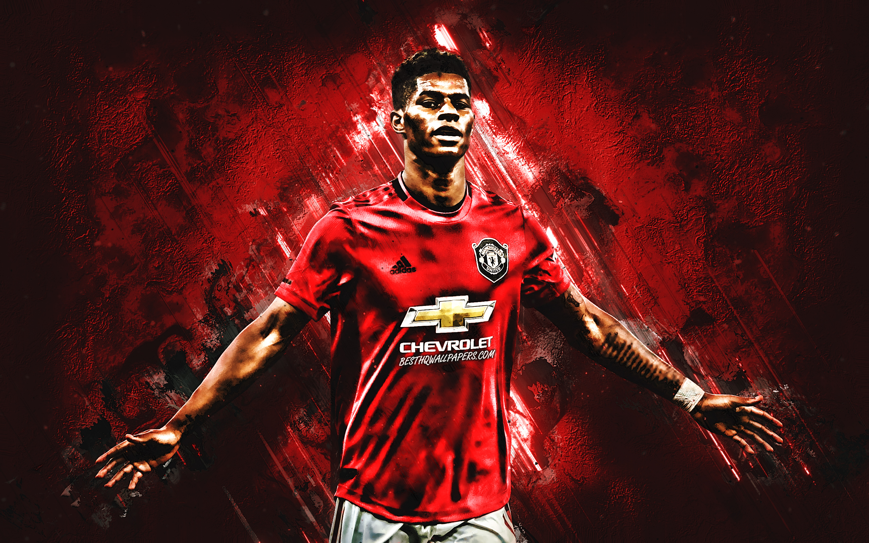 Marcus Rashford Portrait English Football Player 2880x1800 Download Hd Wallpaper Wallpapertip