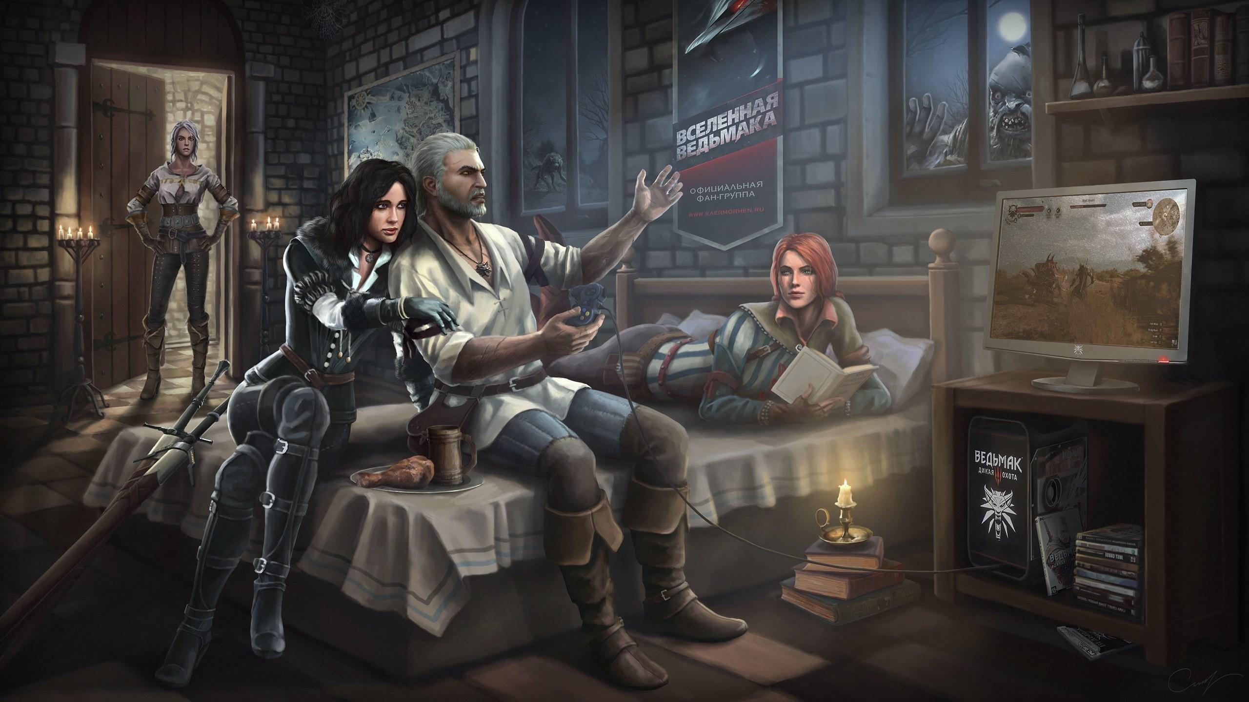 The Witcher 3 Wild Hunt Gentral Hd Wallpaper Ma A Atko 2560x1440 Download Hd Wallpaper Wallpapertip