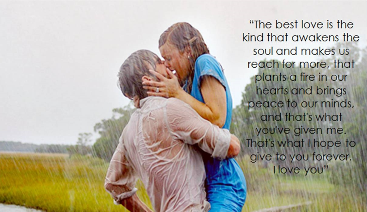 Love Rain Quote With Couple 1210x699 Download Hd Wallpaper Wallpapertip