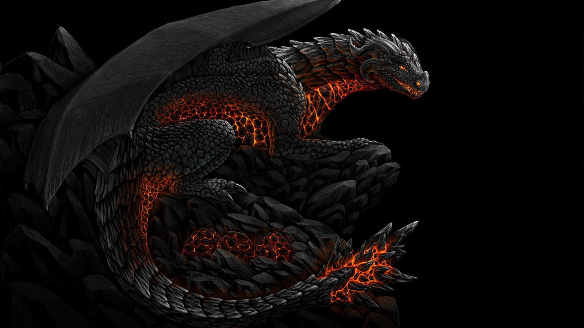 Hd Red Eyes Black Dragon Wallpapers Wallpaper Cave 1920x1080 Download Hd Wallpaper Wallpapertip