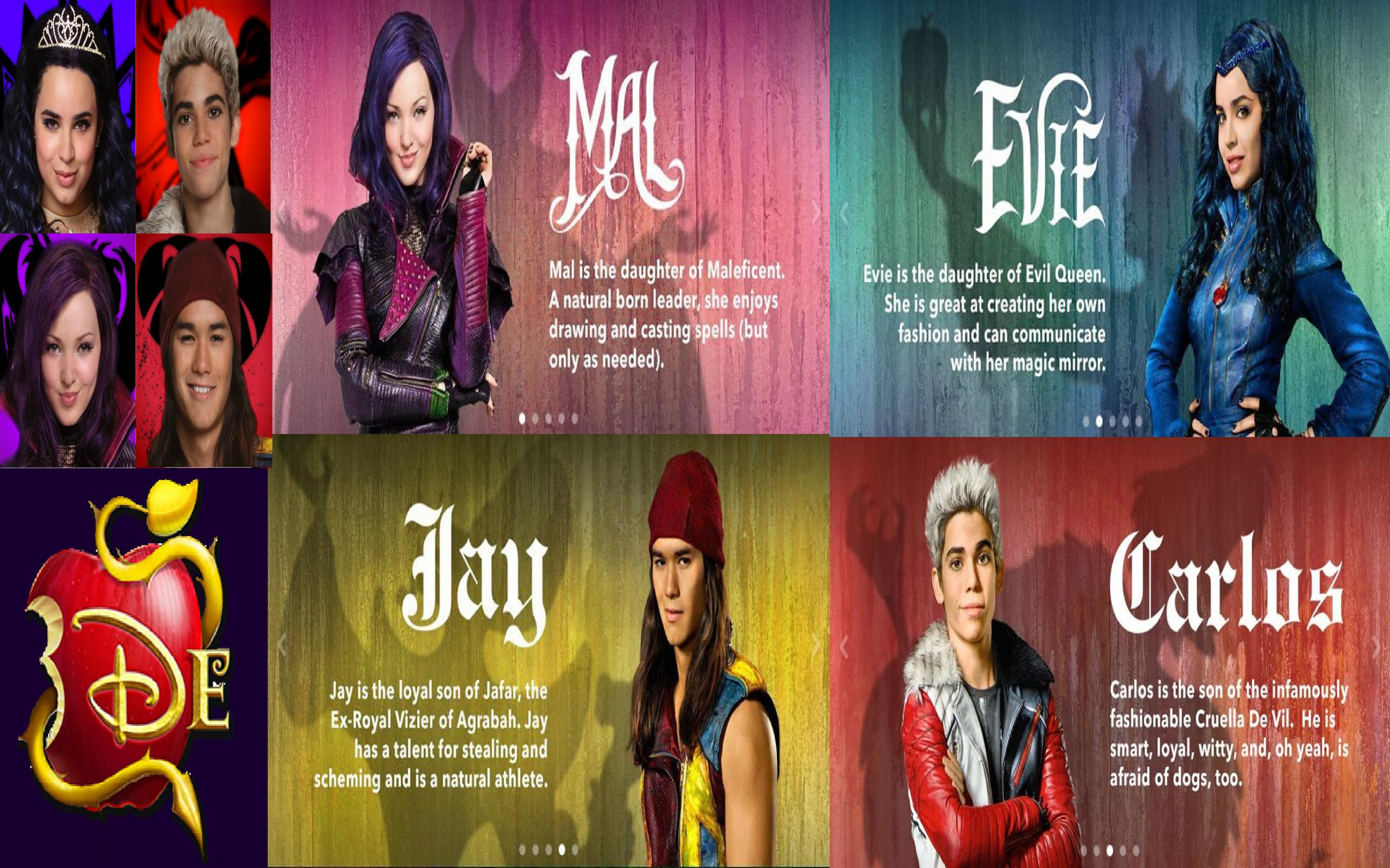 Descendants Disney Movie Wallpaper 2560x1600 Download Hd Wallpaper Wallpapertip