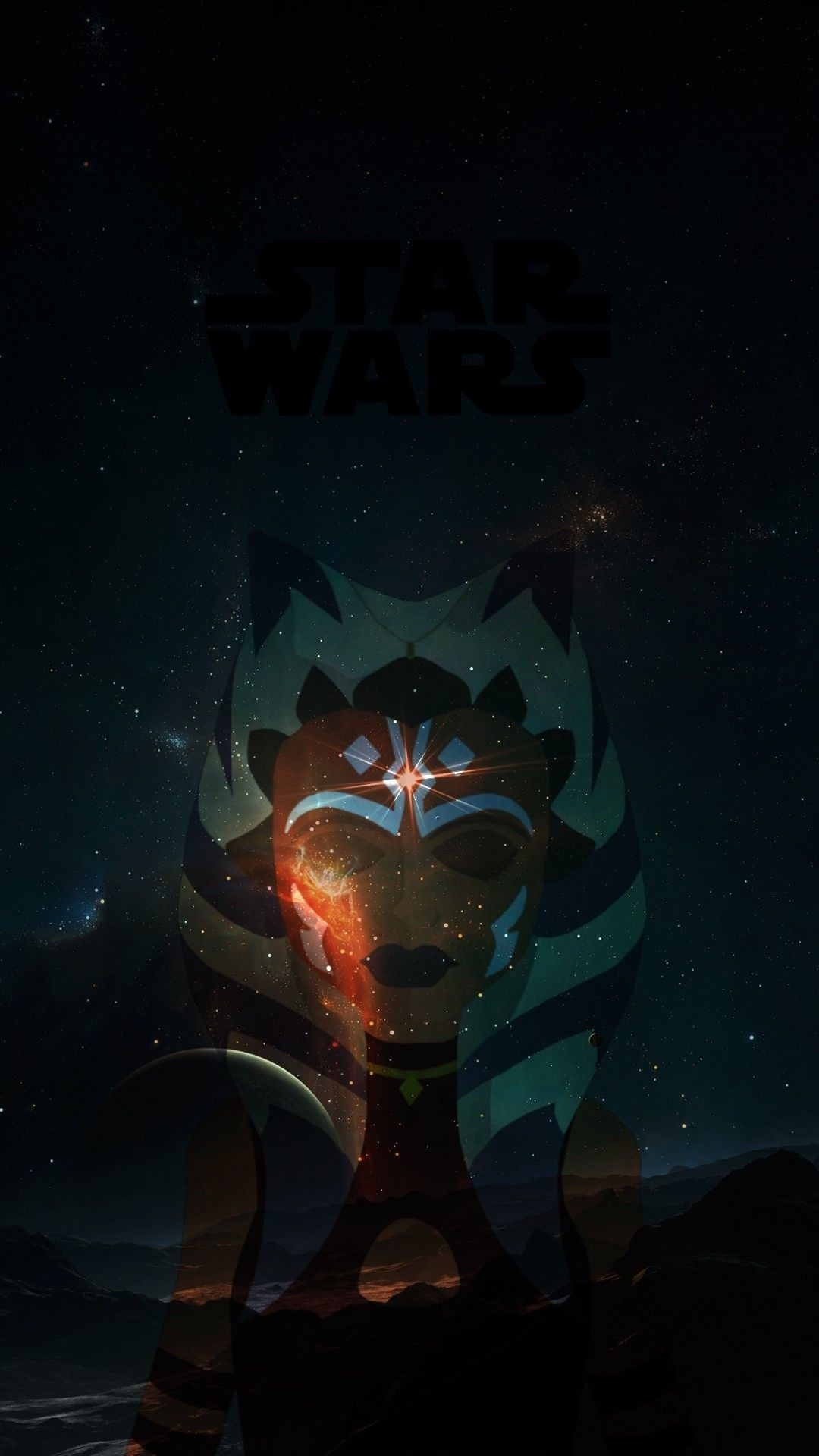 Ahsoka Wallpaper Zeichnen Geschichte Star Wars Symbole 1080x1920 Download Hd Wallpaper Wallpapertip