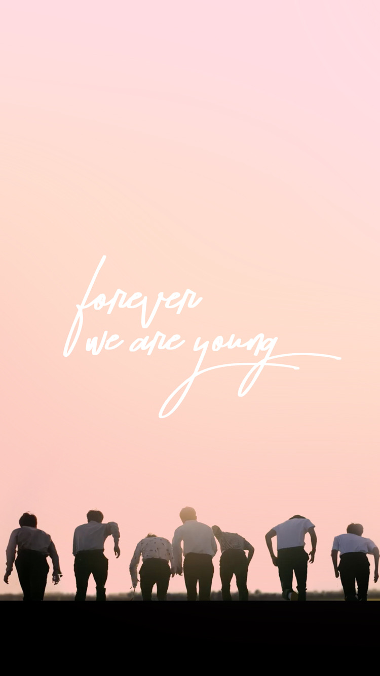 Aesthetic Bts Young Forever 750x1334 Download Hd Wallpaper Wallpapertip
