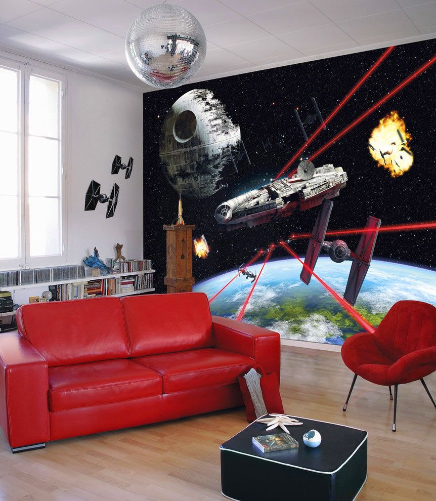Star Wars Room Wallpaper 862x990 Download Hd Wallpaper Wallpapertip