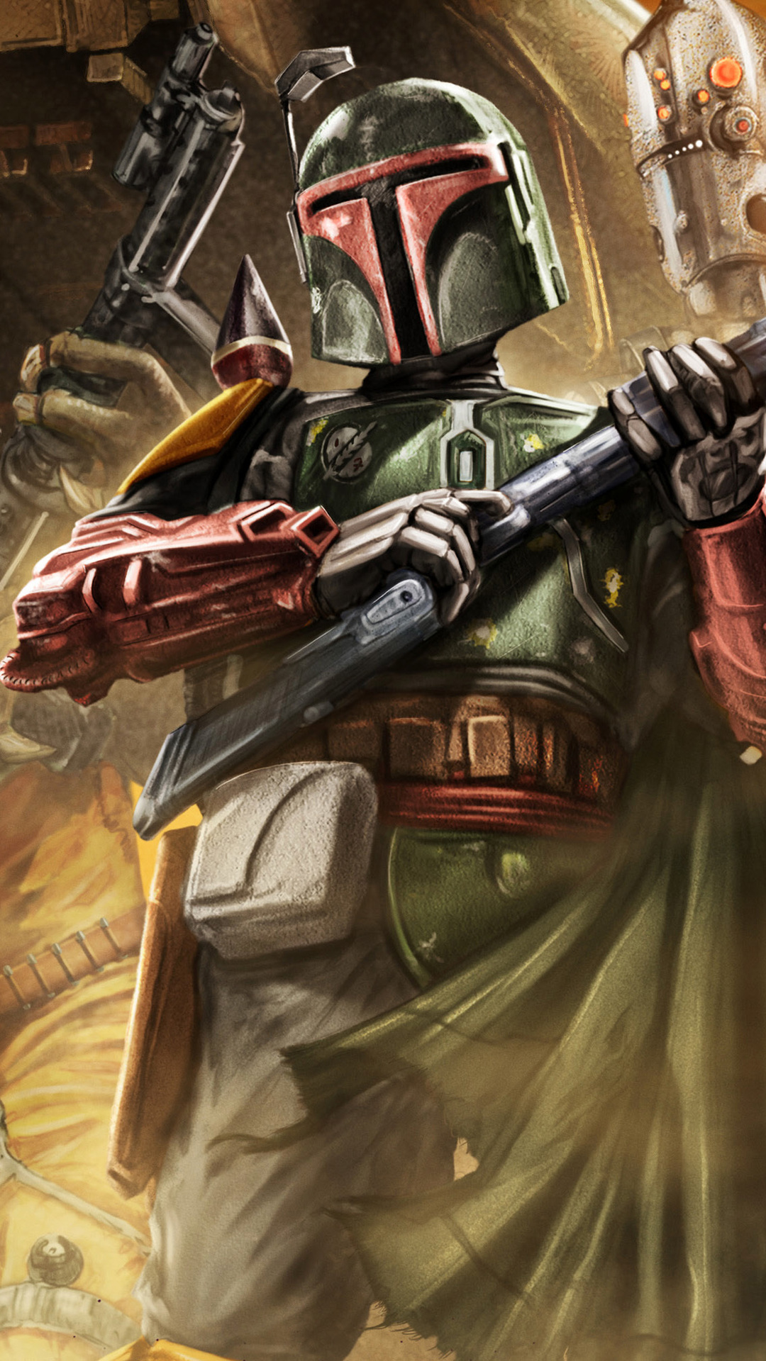 Star Wars Bounty Hunter Game Photo 1080x1920 Download Hd Wallpaper Wallpapertip
