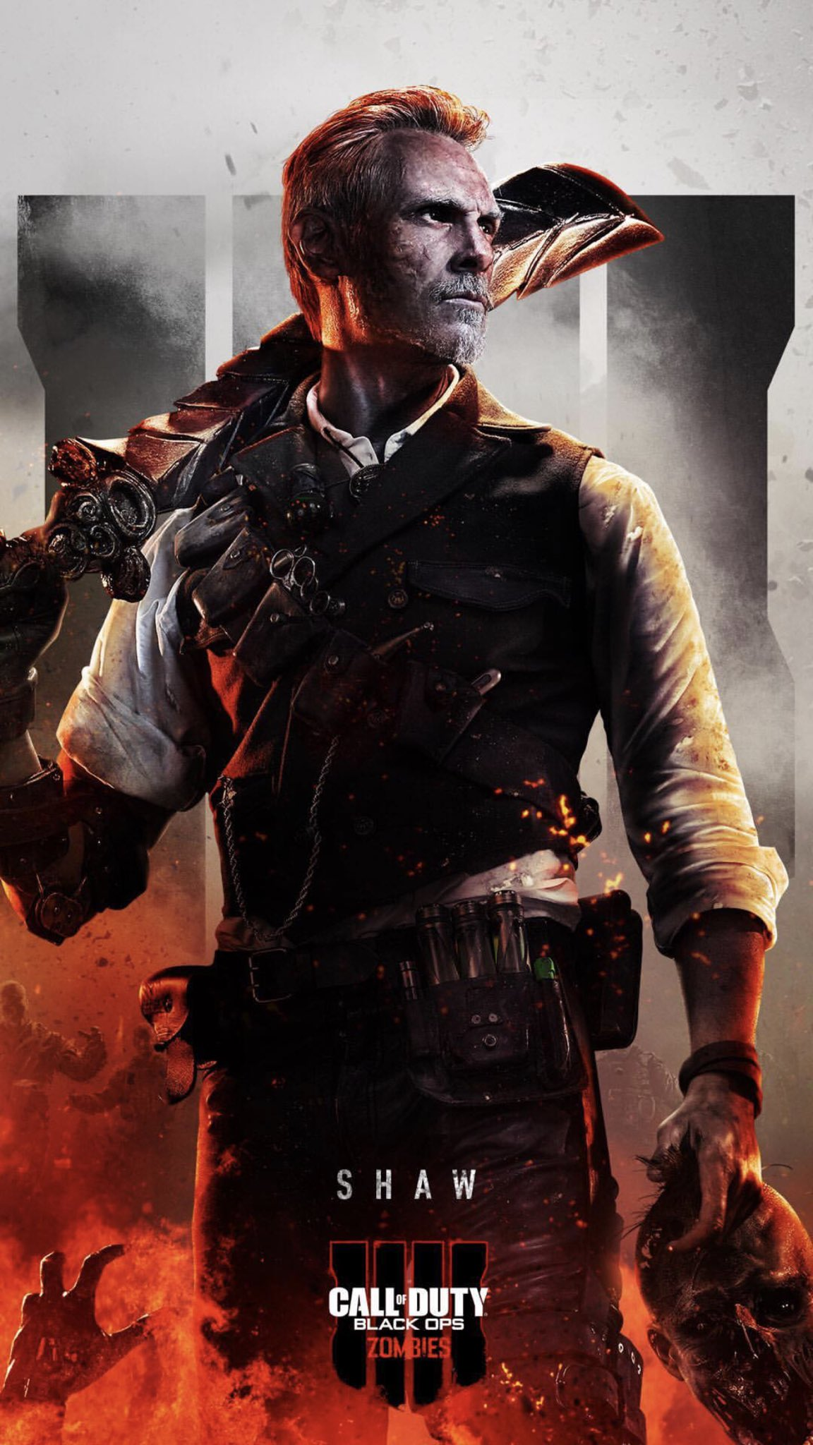 Black Ops 3 Zombies Wallpaper 1152x2048 Download Hd Wallpaper Wallpapertip