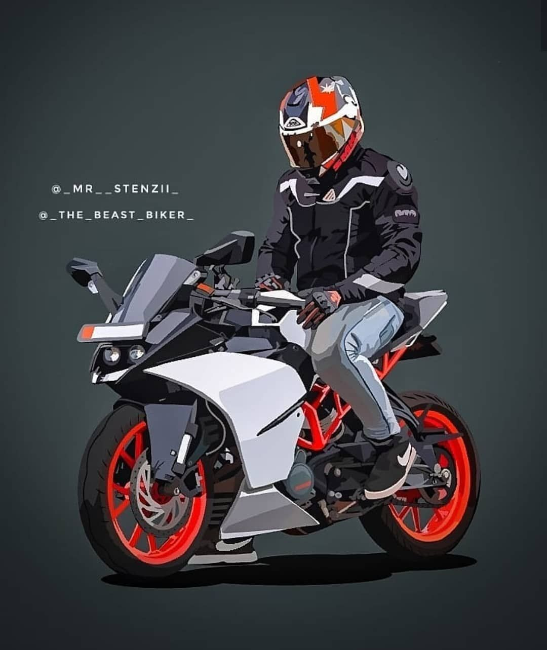 Ktm Rc Wallpaper 1080x1284 Download Hd Wallpaper Wallpapertip