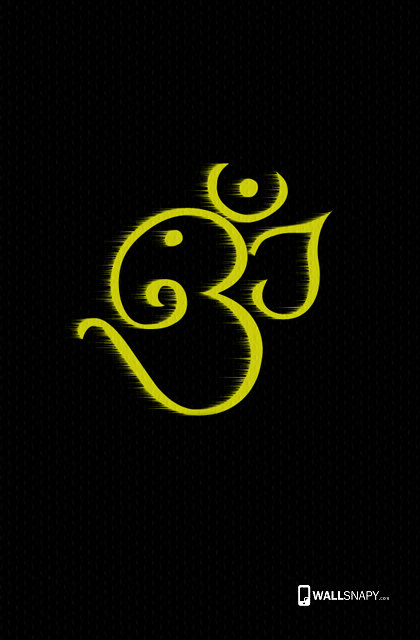 Ganesha Fond D Ecran Om Pour Mobile 420x640 Wallpapertip