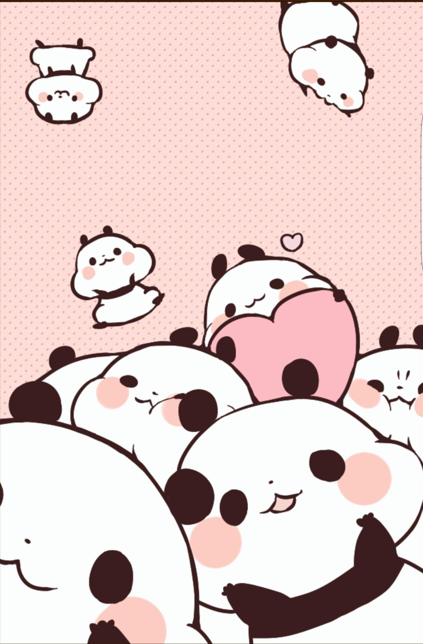 dessin de panda mignon chibi - fond d'écran kawaii panda - 1427x2170 -  WallpaperTip