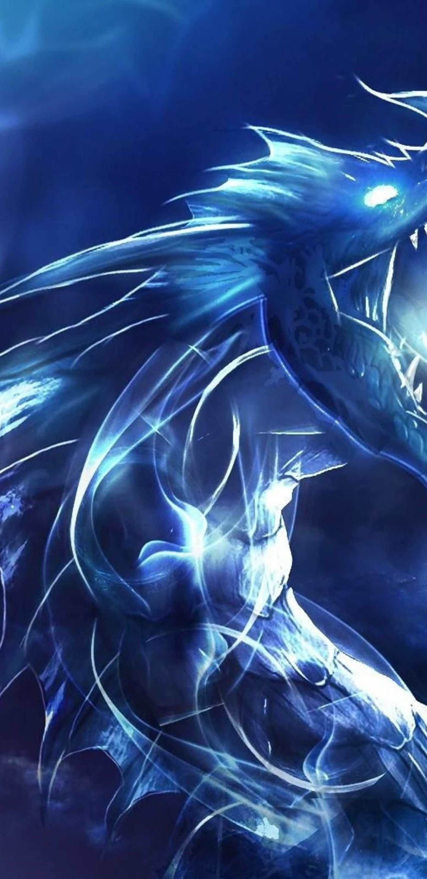Blue Dragon Samsung Galaxy S8 S8 Note 8 Qhd Hd 4k 1440x2960 Download Hd Wallpaper Wallpapertip
