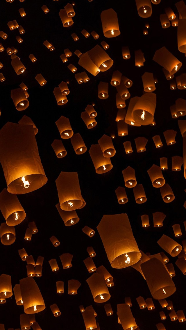 26 266819 sky lanterns sky lantern wallpaper iphone