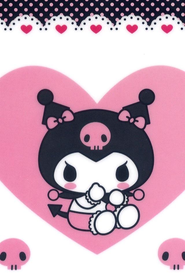 Baby My Melody And Kuromi 640x960 Download Hd Wallpaper Wallpapertip
