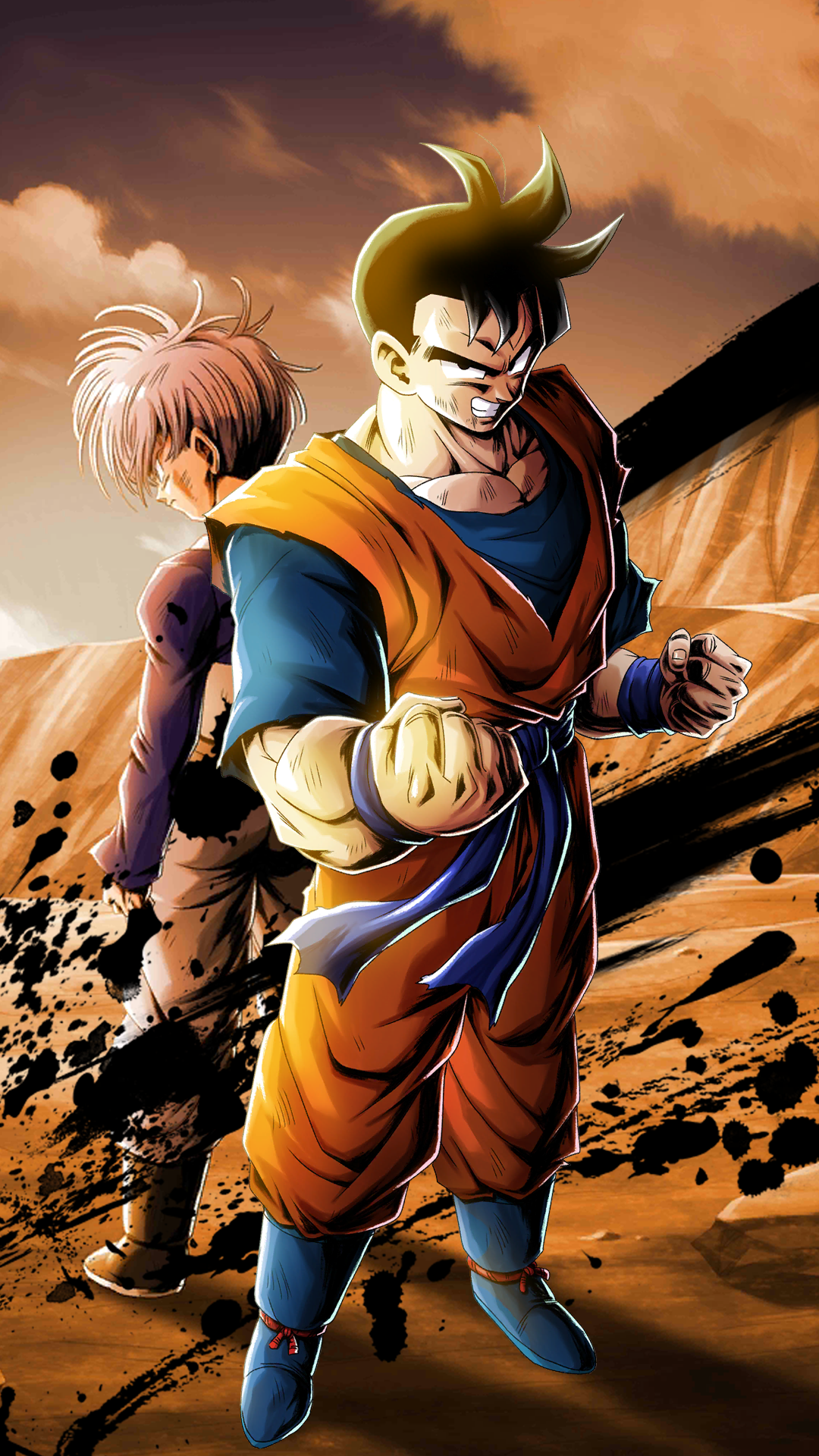 Ex Future Gohan Hd Wallpaper Dragonballlegends 1080x1920 Download Hd Wallpaper Wallpapertip