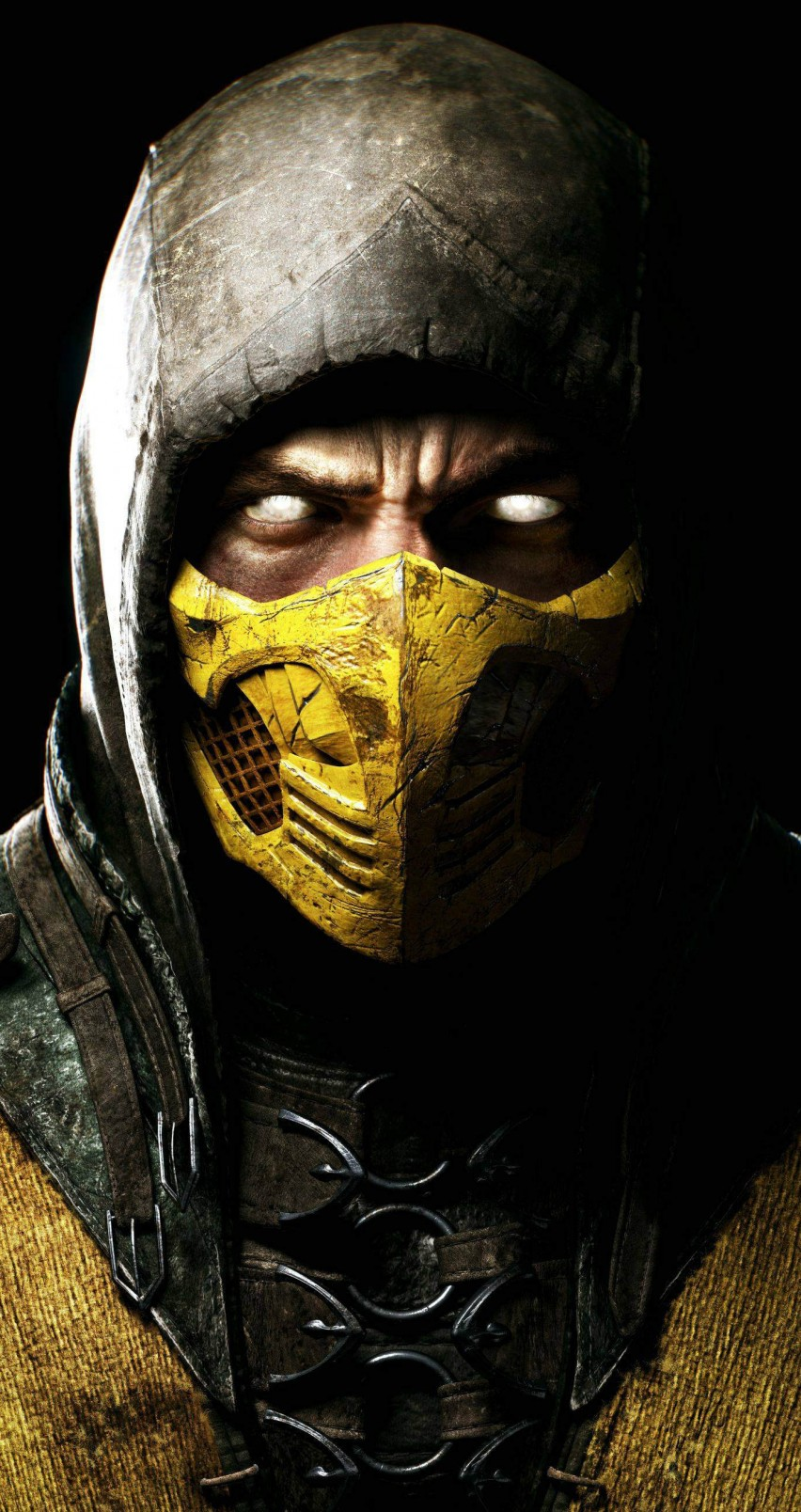 iphone 6 mortal kombat 11 scorpion wallpaper