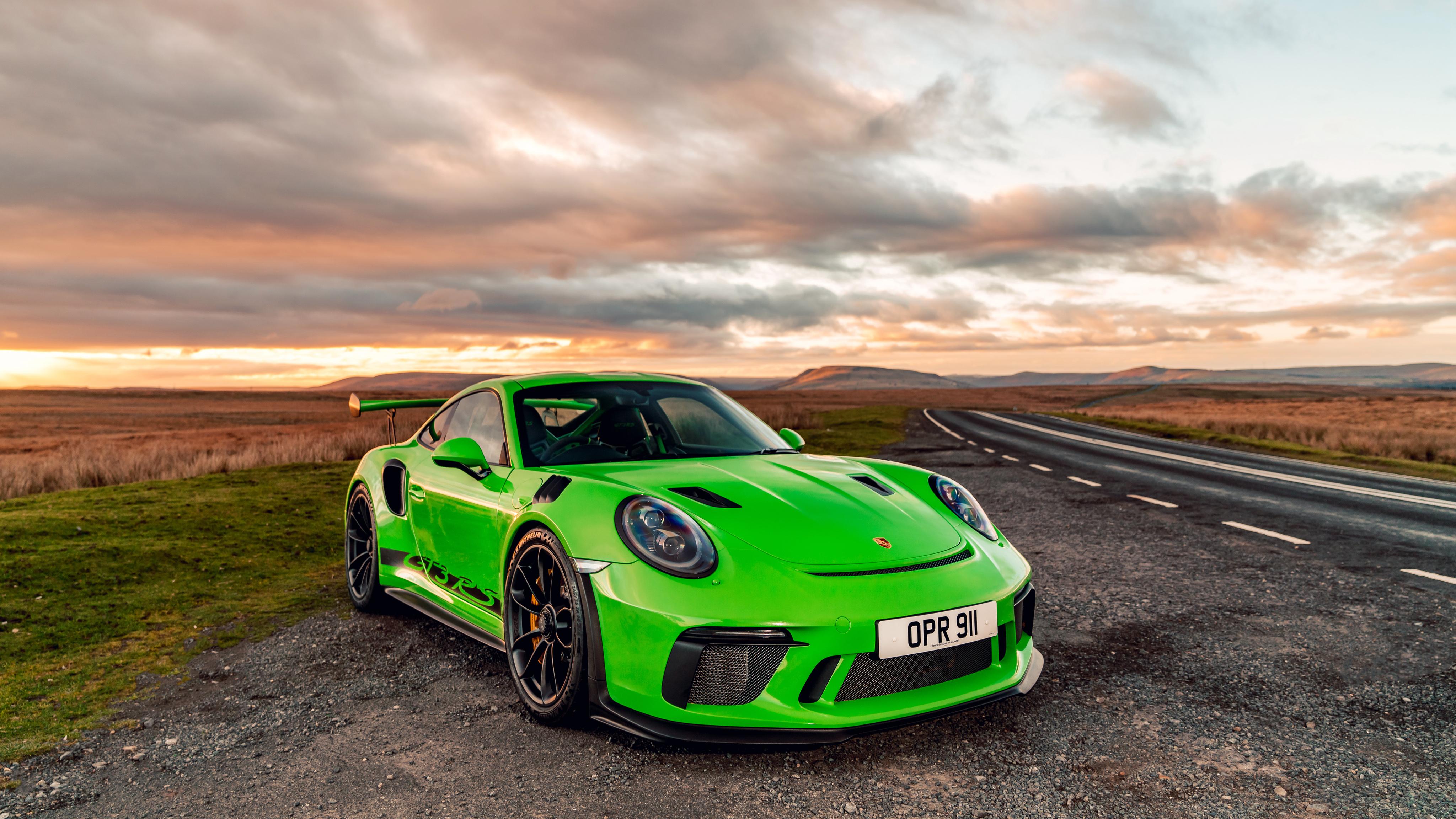 2019 Porsche 911 Gt3 Rs 4096x2304 Download Hd Wallpaper Wallpapertip