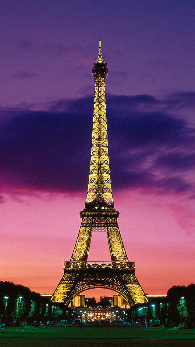 Free Download Paris City Iphone 5 Hd Wallpapers Eiffel Tower At Night 640x1136 Download Hd Wallpaper Wallpapertip
