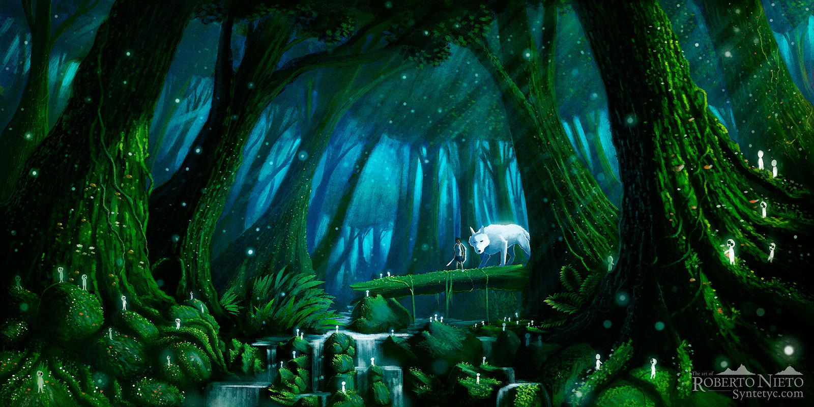 Mononoke Hime Wallpaper Princess Mononoke Wallpaper 4k 1600x800 Download Hd Wallpaper Wallpapertip