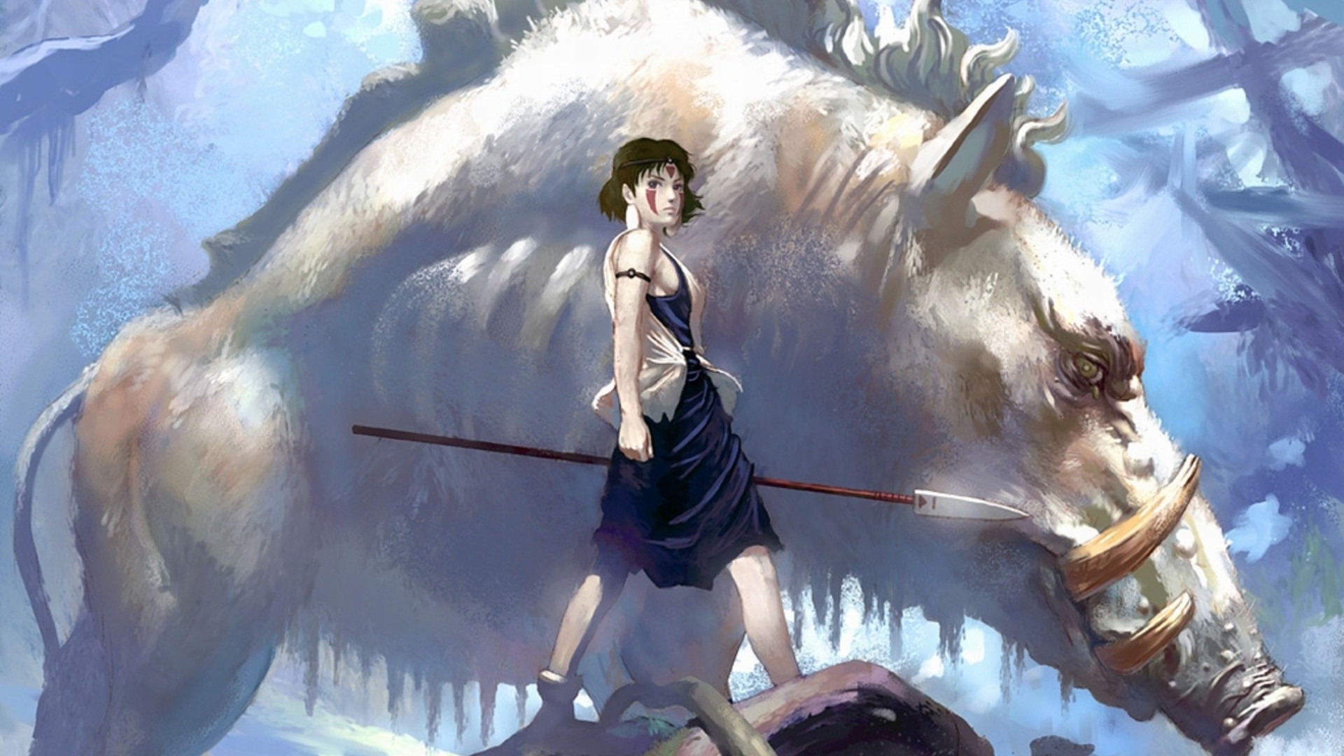 Princess Mononoke 1920x1080 Download Hd Wallpaper Wallpapertip