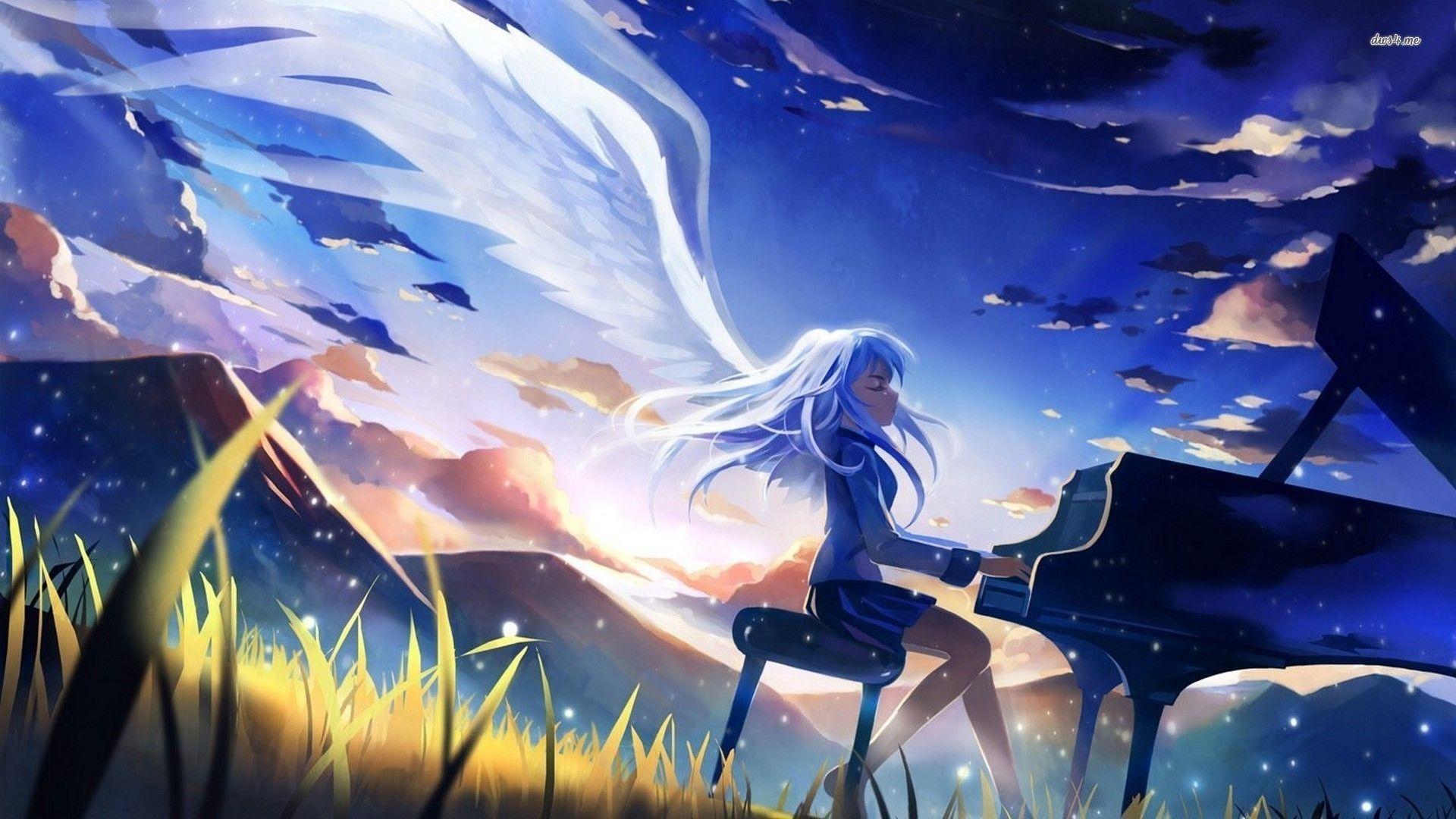 エンジェルビート壁紙4k アニメの天使の壁紙 1280x7 Wallpapertip